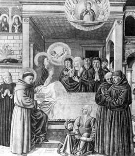 Death of St. Monica