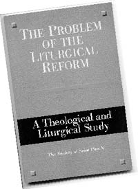 The Problem of the Liturgical Reform: book cover