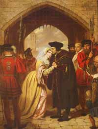 St. Thomas More and wife