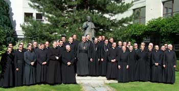 priests and bishops at the General Chapter of the SSPX 2006